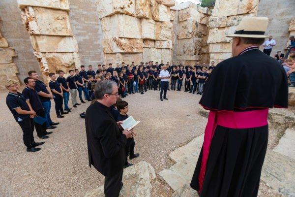 Mit den Regensburger Domspatzen nach Israel und Palästina 5. - 12. September 2018 Foto: Michael Vogl