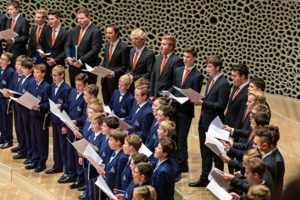 Regensburger Domspatzen Konzert Elbphilharmonie Hamburg Foto: Michael Vogl